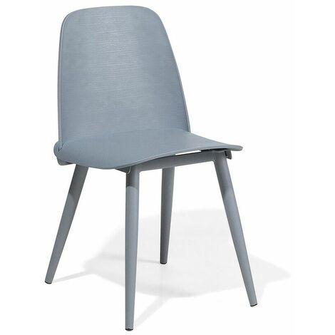 Chaise de salle à manger grise HAMILTON