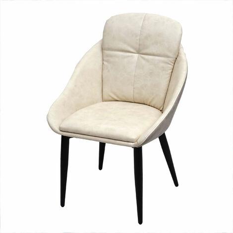 Chaise de salle à manger HHG-628, chaise avec accoudoir ~ velours, gris-anthracite