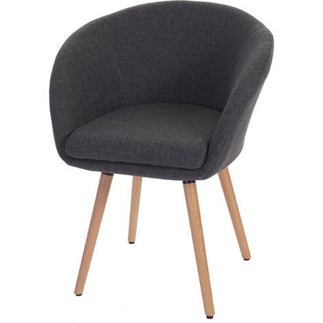 Chaise de salle à manger Malmö T633, fauteuil, design rétro des années 50