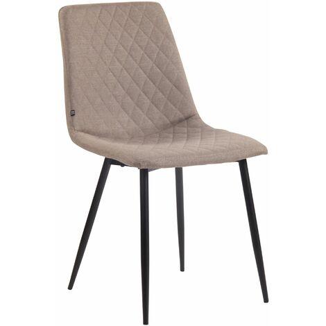 Chaise de salle à manger Telde en tissu