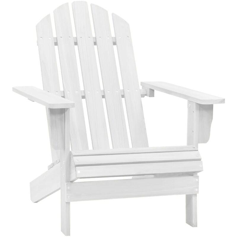 Vidaxl - Chaise de jardin Bois Blanc