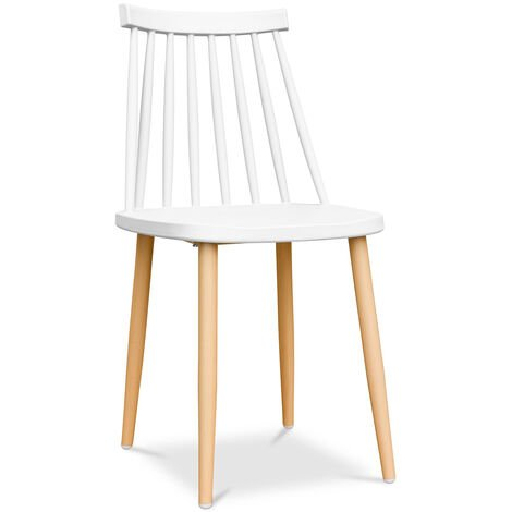 Chaise de style scandinave - Style Blanc