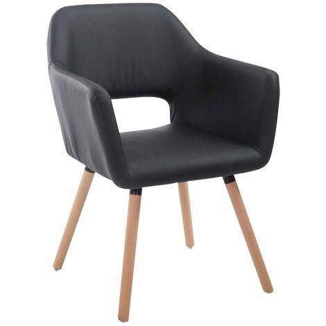 Chaise de visiteur Auckland similicuir