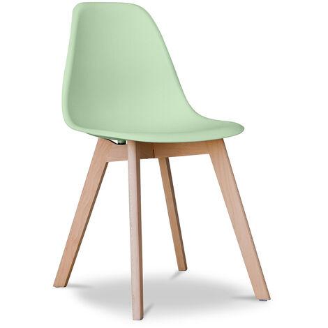Chaise design Deswick Bleu