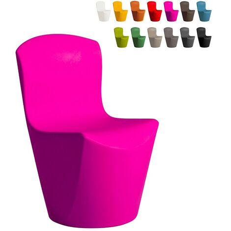 Chaise design moderne Slide ZOE pour bar restaurant cuisine et jardin