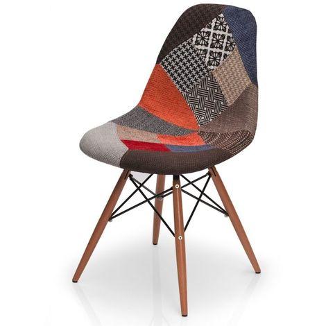 Chaise design Mozaik - Multicolore - Intérieur - Multicolore
