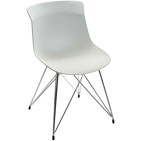 Chaise design pieds filaires