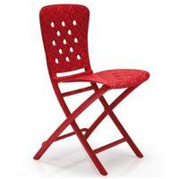 Chaise design pliante Extérieur & Intérieur Zac Spring NARDI - Perforée