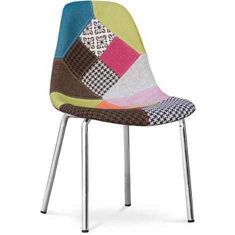 Chaise multicolore à prix mini   Soldes jusqu'au 11 août 2020 !