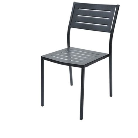 Chaise empilable RD ITALIA Dorio 1 - Anthracite - Extérieur - Relevable - Anthracite