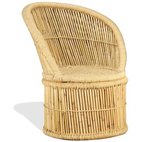 Chaise en bambou 60 x 61 x 82 cm MJ244222