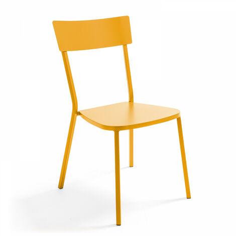 Chaise en métal style industriel, Cabourg