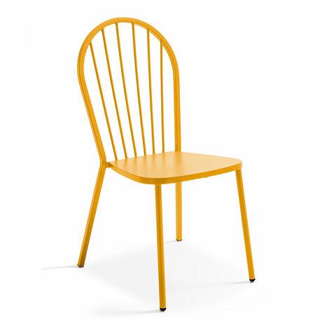 Chaise en métal style industriel, Honfleur