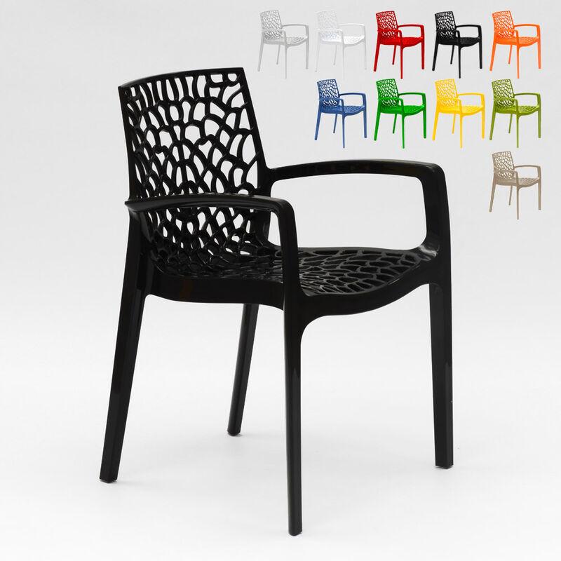 Jardin Cafe One Utama: Chaise En Polypropylène Accoudoirs Jardin Café Grand