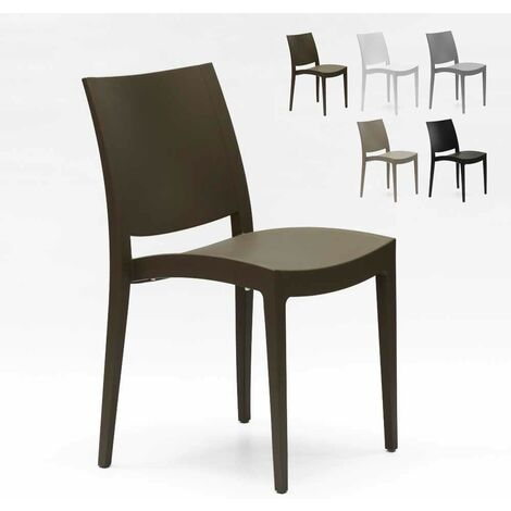 Chaise en polypropylène pour salle à manger bar et restaurant Grand Soleil TRIESTE