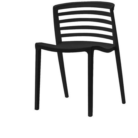 Chaise en résine 51x54x75 cm Tour de Pise Zendart Design Sélection - Utilisable en extérieur et en intérieur