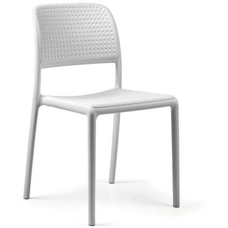 Chaise en resine pour jardin & terrasse Bora Bistrot NARDI - Relevable