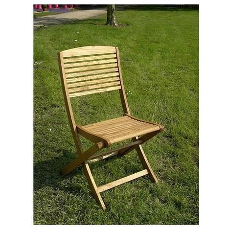 Chaise en robinier huile 180x30x42cm ref.10165