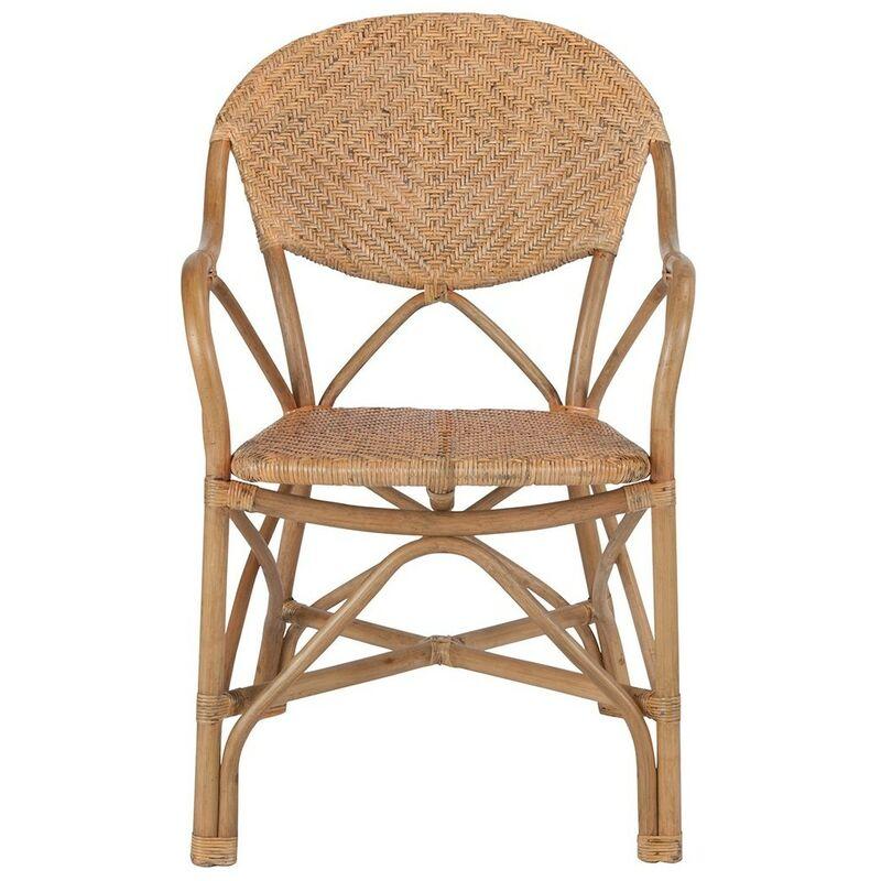 Chaise en rotin Croisette - Signature