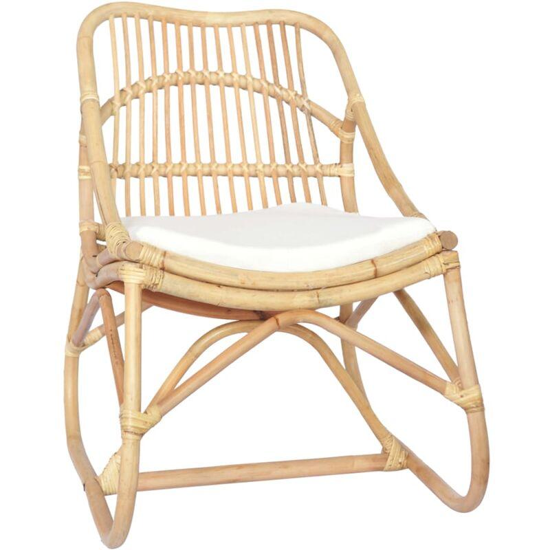 Betterlife - Chaise en rotin Lin8207-A