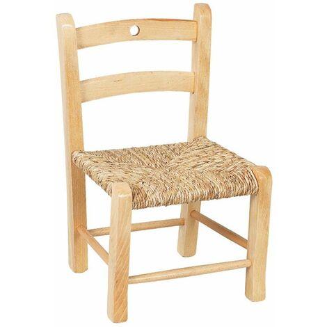 Chaise haute pour enfant en h/être laqu/ée blanc/…