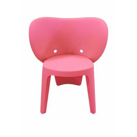 Chaise enfant rose - Elephanto rose - Rose