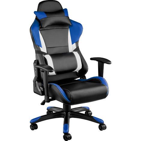 Fauteuil de Bureau RAPID Similicuir Chaise Bureau Gamer Racing Hauteur Réglable