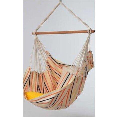 Chaise hamac avec bois d'ecartement - piquenique