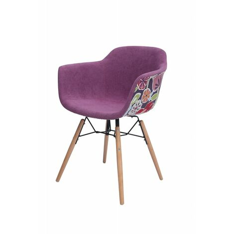 Chaise hippie scandinave - FLORA ROSE
