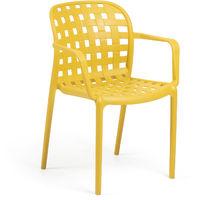 Chaise Isa jaune