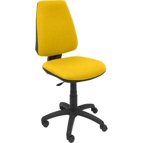 Chaise jaune Elche CP bali