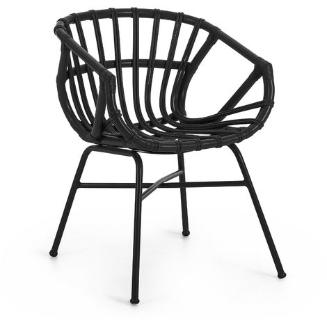 Chaise Kaly noir