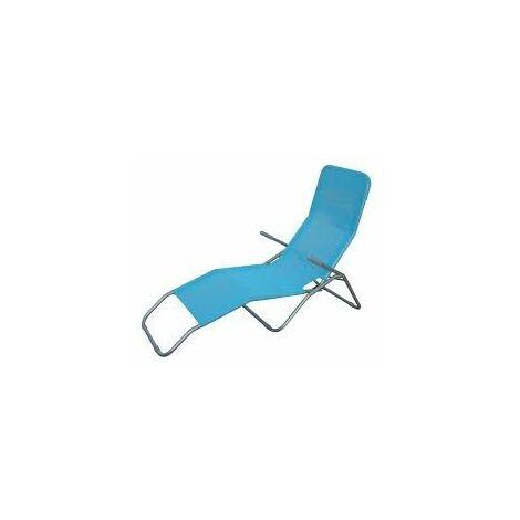 Turquoise Longue En Positions 2 Alu Chaise EH29eWDIY
