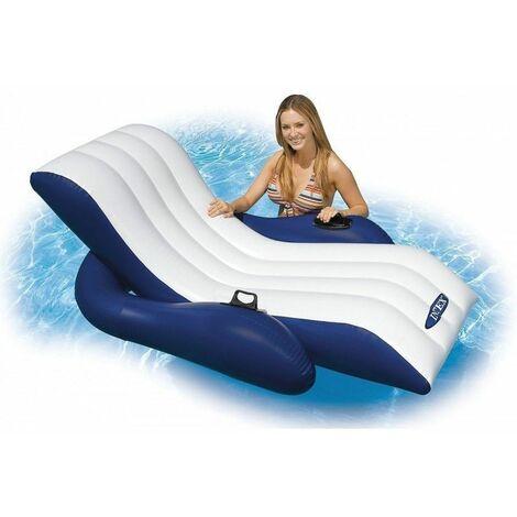 Chaise longue gonflable de piscine - Transat flottant - Intex - Livraison gratuite