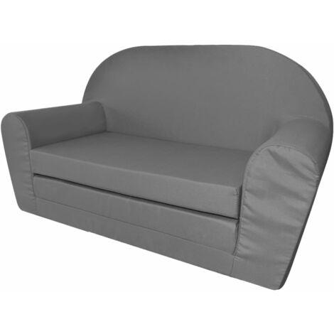 Chaise longue pliable pour enfants Gris