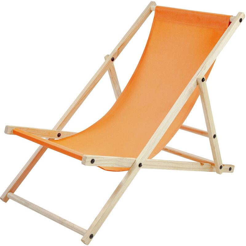 Chaise Longue SUN,orange