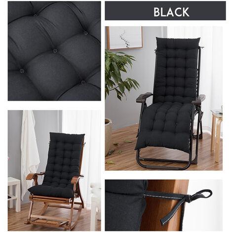 Chaise Lounger Cushion Pad Lounge Rocking Recliner Chair Mat