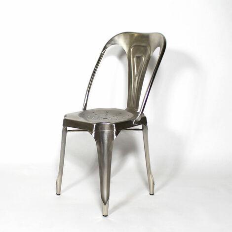 Chaise métal industrielle
