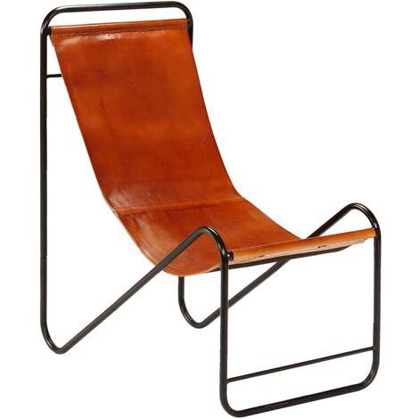Chaise Noir Cuir véritable