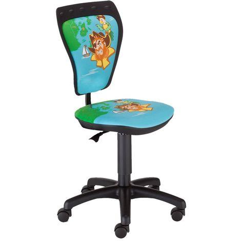 Chaise pivotante chambre d'enfants pirates siège de bureau pirates garçons
