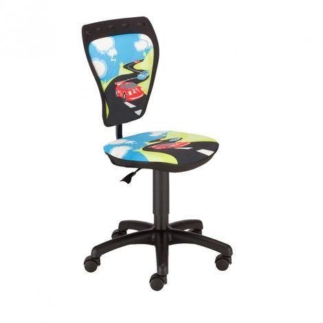 Chaise pivotante chambre enfants voiture de course siège bureau hauteur réglable