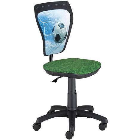 Chaise pivotante pour enfants avec dossier ergonomique MINISTYLE