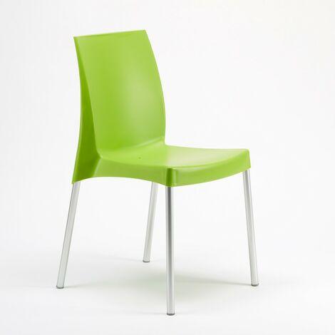 Chaise plastique pour bar cafè Boulevard Grand Soleil italienne | Vert