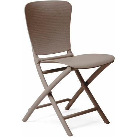 Chaise pliante design Intérieur & Extérieur Zac Classic NARDI - Plateau Plein