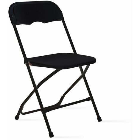 chaise pliante noire jardin