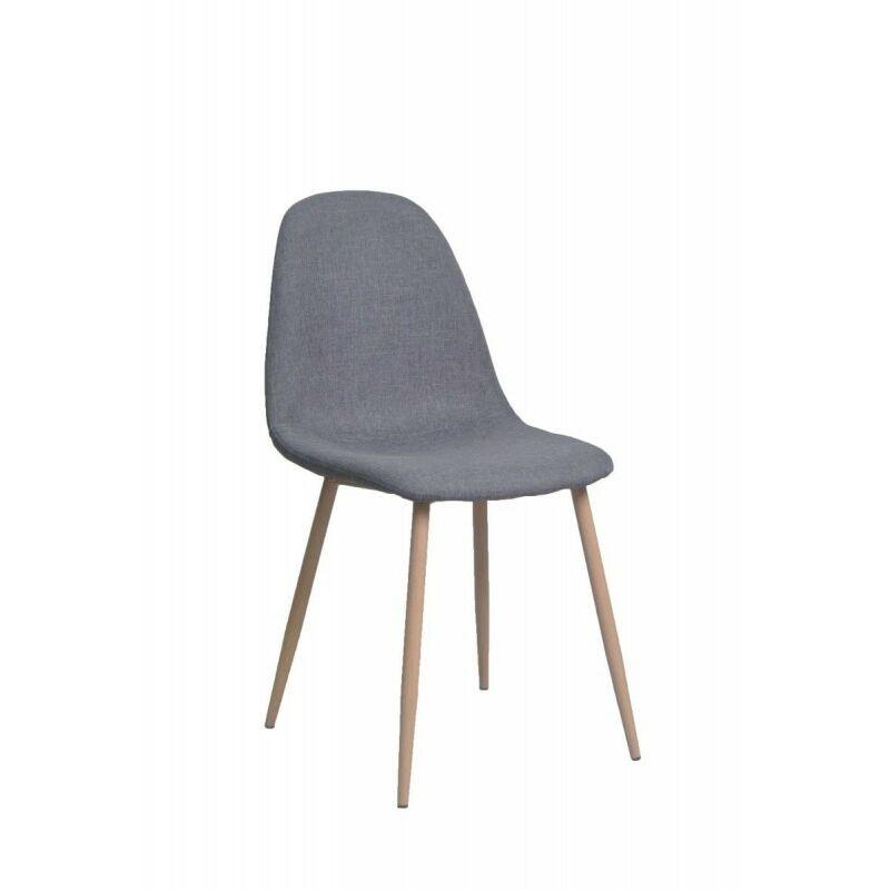 Chaise PLINE coloris gris - Gris