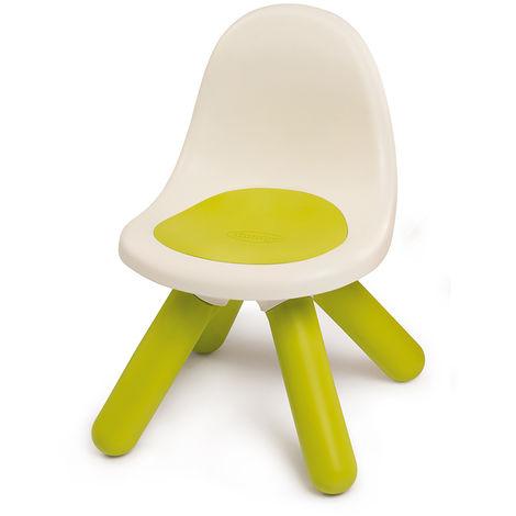 Chaise pour enfant plastique verte - Smoby