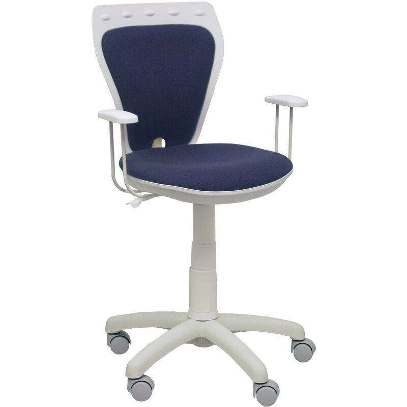 Chaise pour enfants Salinas blanc bali gris foncé