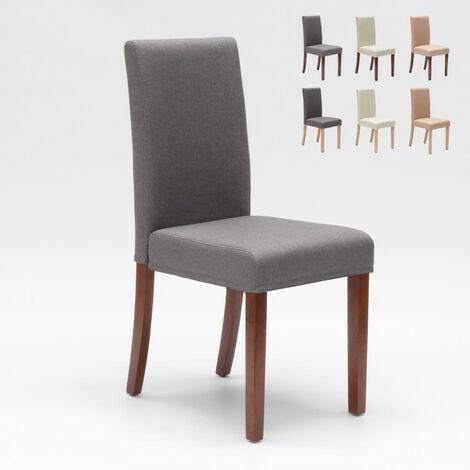 Chaise rembourrée style henriksdal pour cuisine salle à manger COMFORT