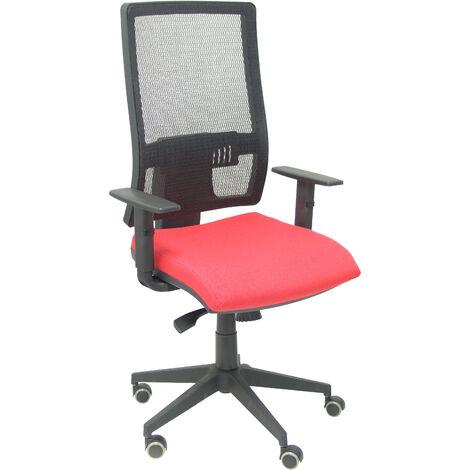 Chaise rouge Horna bali sans appui-tête